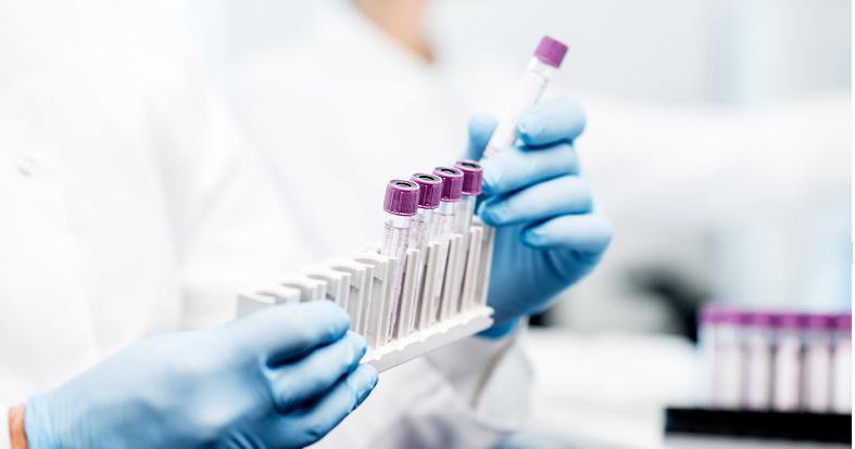 Veterinary pharmacy test tubes